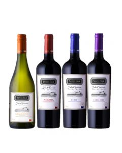 Pack Santa Ema Select Terroir Rsva 750Ml X 4