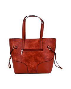 Cartera Tote Bag Nicole Daniel 9008 - Camel