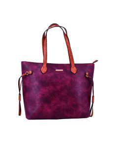 Cartera Tote Bag Nicole Daniel 9005 - Rojo Vino