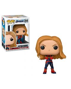 Pop Marvel Avengers Endgame Captain Marvel