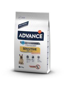 Advance Sensitive Mini. Perros De Raza Pequeña 7.5Kg.