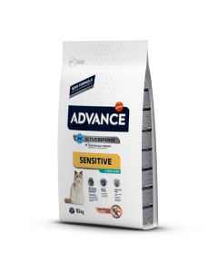 Advance Gato Adulto. Sensitive Sterilized 10Kg