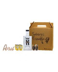 Gin Box Clásico Sabores España Pack Gin/Ginebra 700ml
