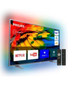 Televisor Smart TV LED 55 Philips 55PUD6703/44 UHD/4K