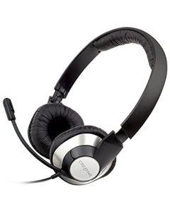 Audífonos Con Micrófono USB Para Chat Creative HS-720 Negro