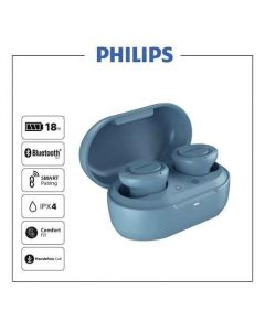 Audífonos Bluetooth Philips TAT1215 Azul