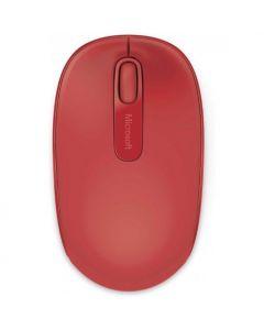 Mouse Óptico Inalámbrico Microsoft 1850 Rojo