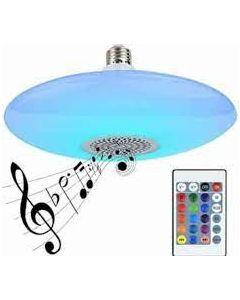 Lámpara Foco LED Bluetooth Genérico Platillo