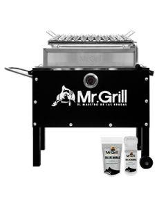 Caja China M+Parrilla+Sal de Maras Mr.Grill CCM0003 Negro