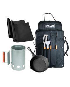 Grill Box Parrillero Mr.Grill GBP0002 Crema