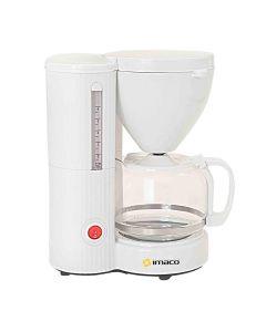 Cafetera De Goteo Imaco ICM608 6 Tazas Blanca