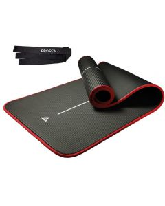 Mat de Yoga ProIron 10 mm Negro