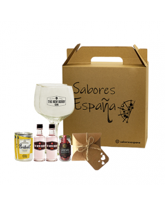Pack Gin/Ginebra Sabores España Gin Box Mother's Day 50ml
