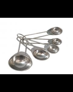 Cucharas Medidoras Vocen 5 Piezas De Acero