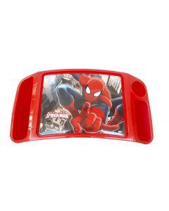 Mesita De Actividades  Duraplast Diseño Spiderman Rojo