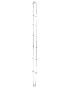 Gargantilla De 45cm de Bolitas Marina Luna Llena Plata 925