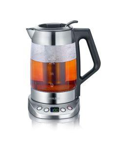 Hervidor de agua y té de Cristal Severin WK 3479 1.7 L.