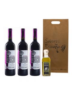 Pack 3 Vinos Tinto /Aove Sabores España Especial Tintos