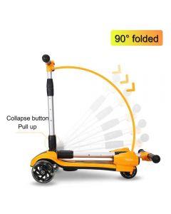 Scooter Eléctrico 3 Ruedas Kidsscooter 818 Naranja
