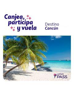 Ticket de participacion en sorteo de dos pasajes a Cancun